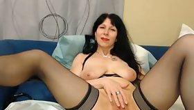 Watching this 50 yo dame do personal property like masturbate is exciting and hot
