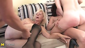 One Guy Who Loves To Fuck Four Mature Sluts - MatureNL
