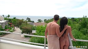 Taking housewife Alektra Blue moans during passionate fucking