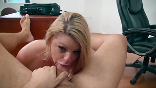 Top milf ends massive porn play with a big facial