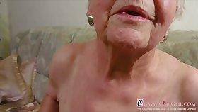 OmaGeiL Real Granny Juicy Pussy Closeup Video