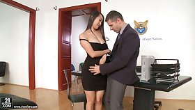 Several slutty secretaries including Asian Sharon Lee lane strong cock chiefly top