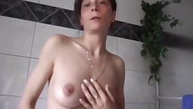 Simmering Deutsch girl masturbating Milf masturbiert