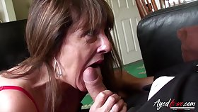 Old Lady Received Hardcore Sex Experience