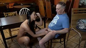 Age-old young attendant and mistress feet first time Can you